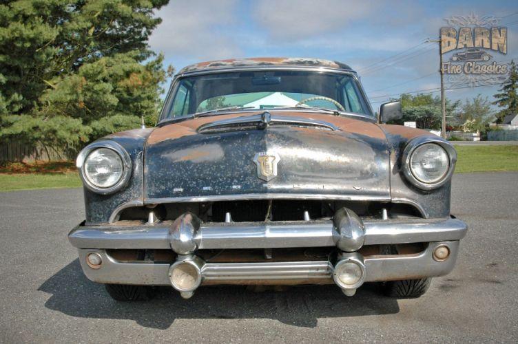 1953 Mercury Monterey Rust Resto Mod Hotrod Hot Rod Rat USA 1500x1000-11 wallpaper