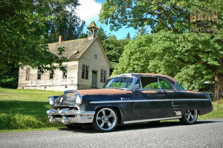 1953 Mercury Monterey Rust Resto Mod Hotrod Hot Rod Rat USA 1500x1000-12 wallpaper