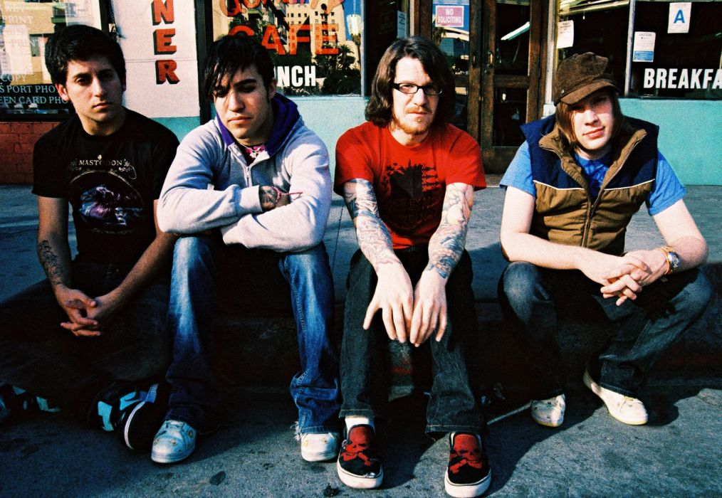FALL OUT BOY pop punk rock alternative 1fallob wallpaper