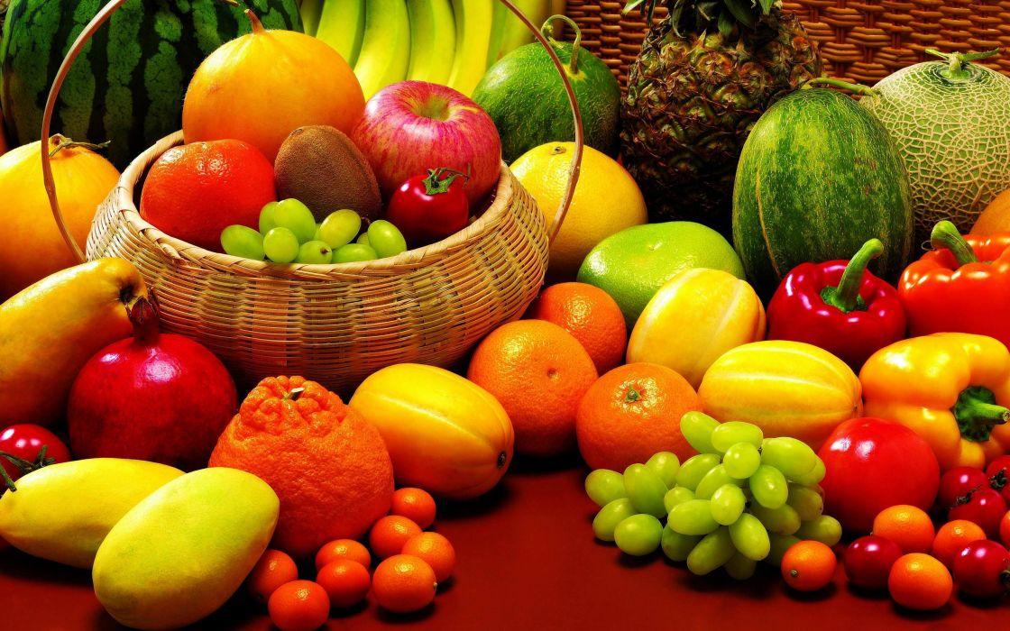 frutas comida surtido wallpaper