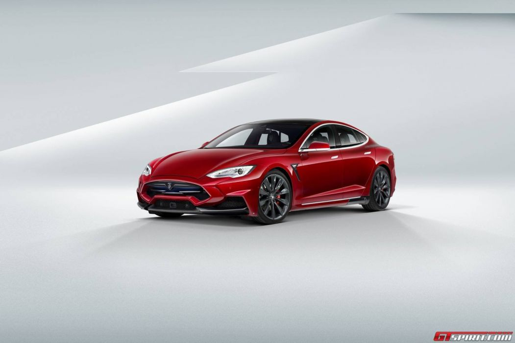 Larte Design Tesla Model S cars electric tuning wallpaper