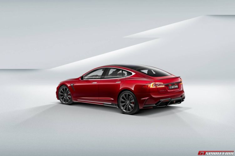 Larte Design Tesla Model S cars electric tuning wallpaper