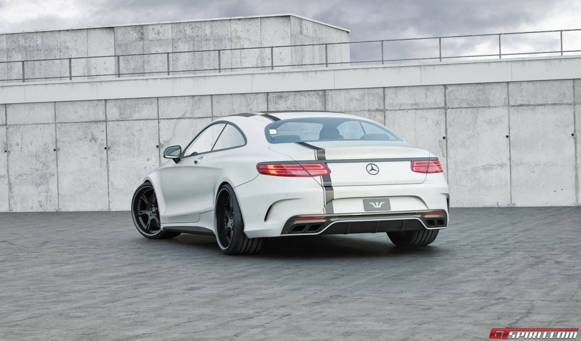 Mercedes Benz S63 AMG Coupe Seven 11 tuning cars wallpaper