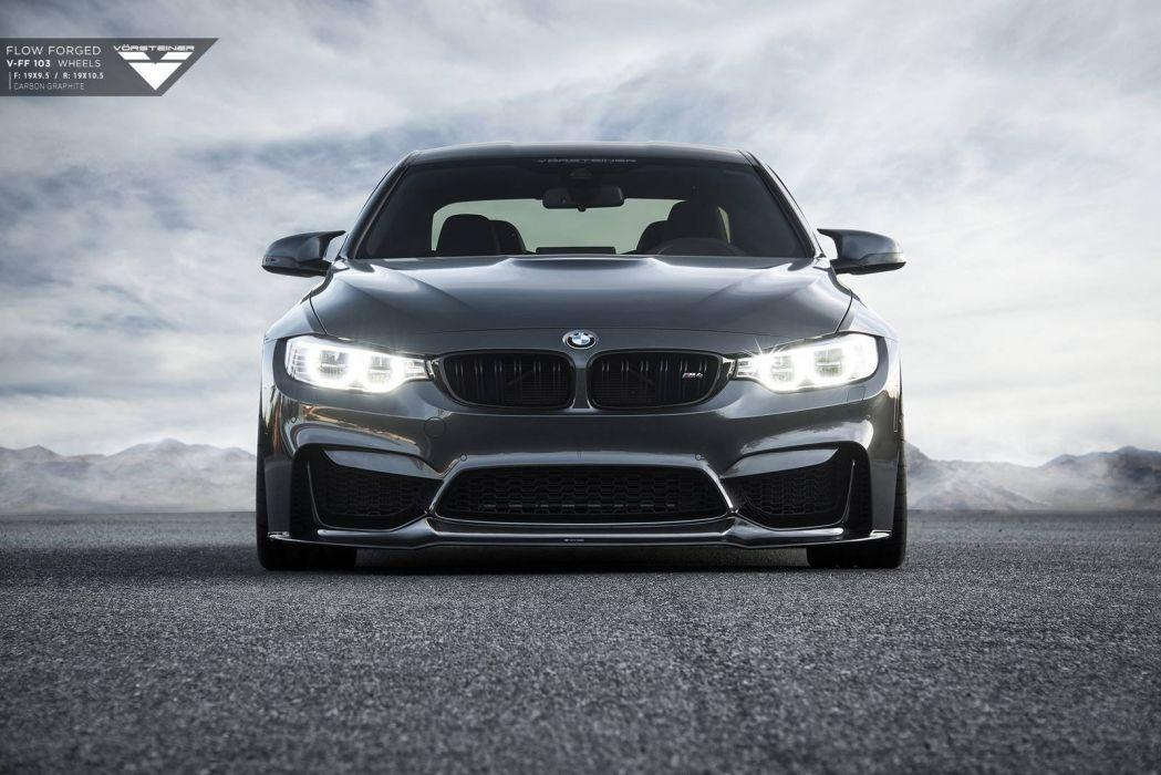 Mineral Grey BMW M4 Vorsteiner tuning cars wallpaper