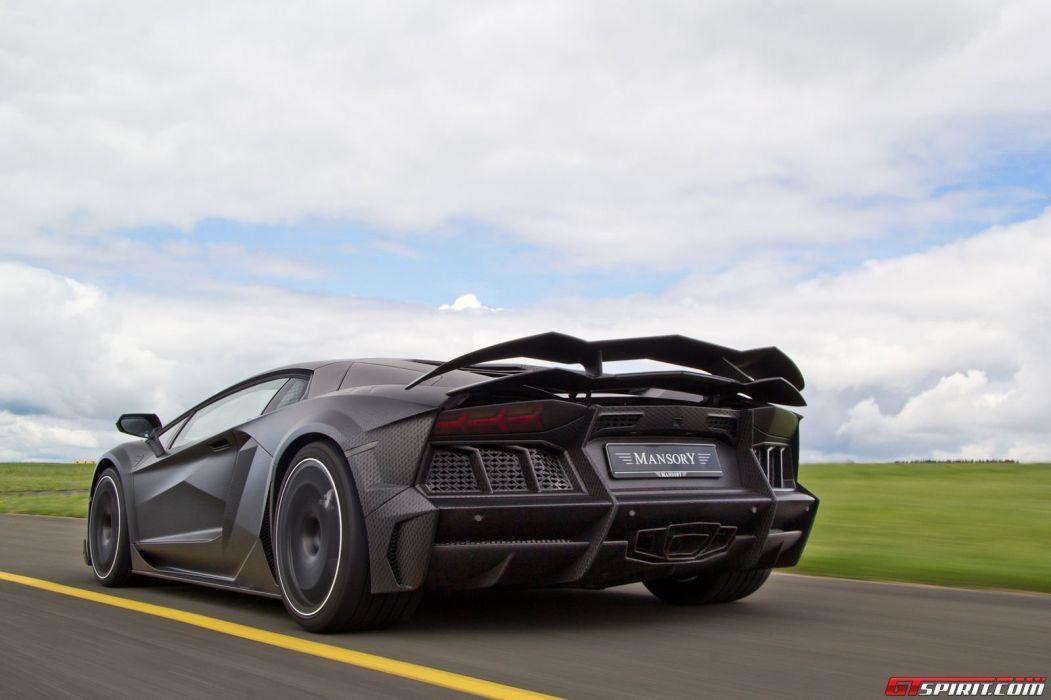 Mansory Carbonado Aventador bodykit supercars cars tuning wallpaper