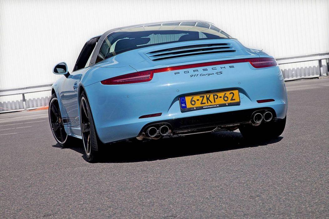 Porsche 911 Targa 4S Exclusive Edition cars tuning 2015 wallpaper