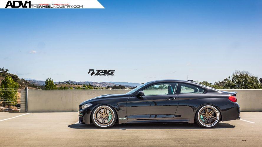 ADV 1 WHEELS BMW F82 M3 tuning cars black wallpaper