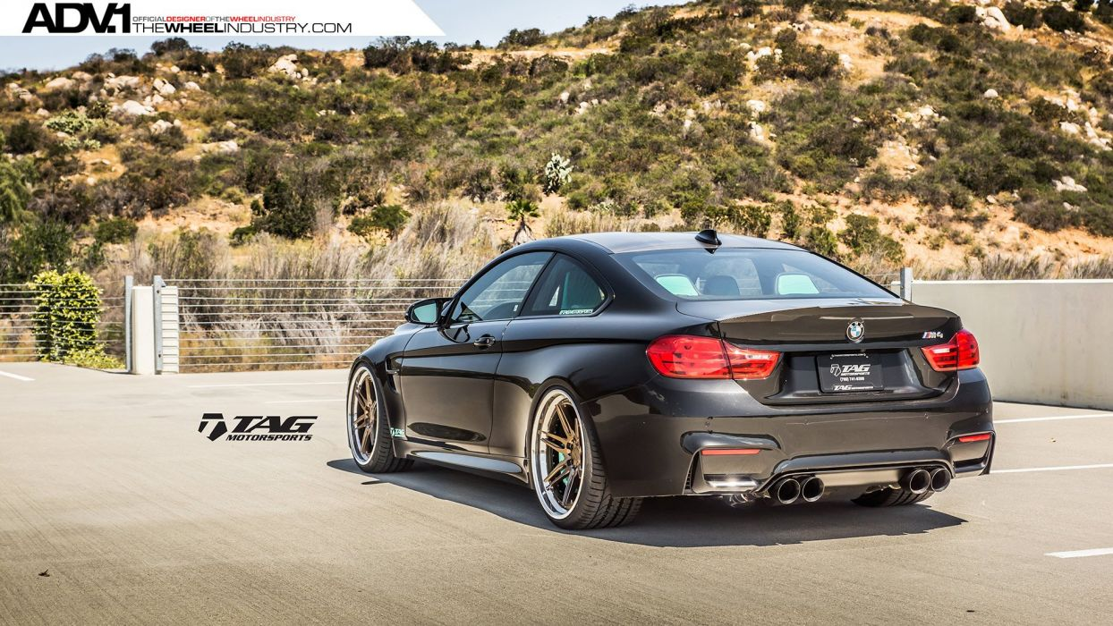 ADV 1 WHEELS BMW F82 M3 tuning cars black wallpaper