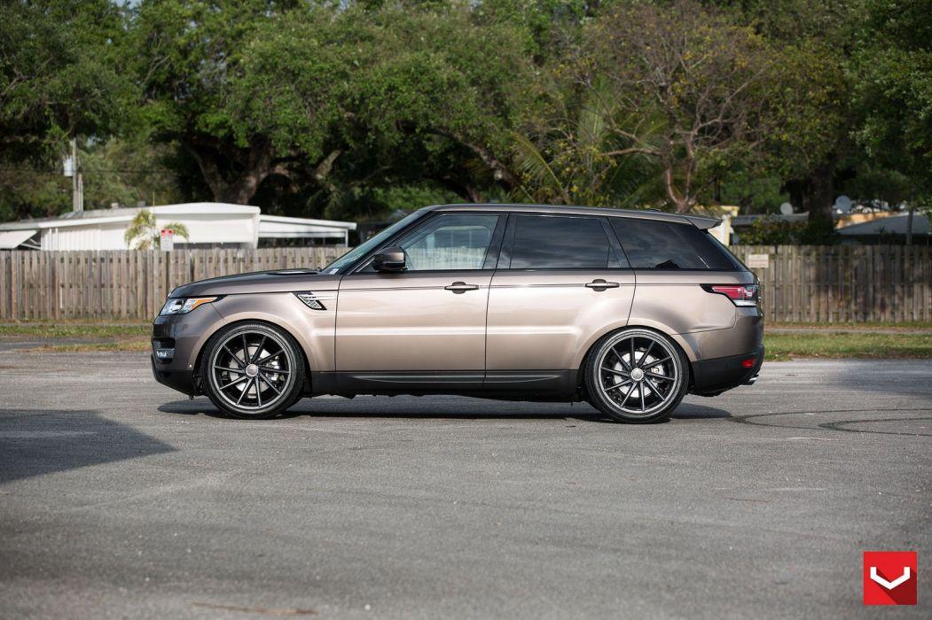 vossen WHEELS Range Rover Sport suv tuning cars black wallpaper