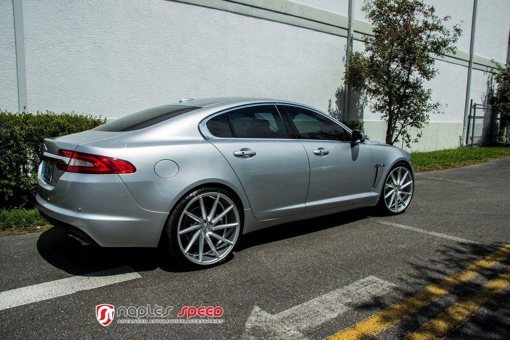 vossen WHEELS Jaguar XF tuning cars wallpaper