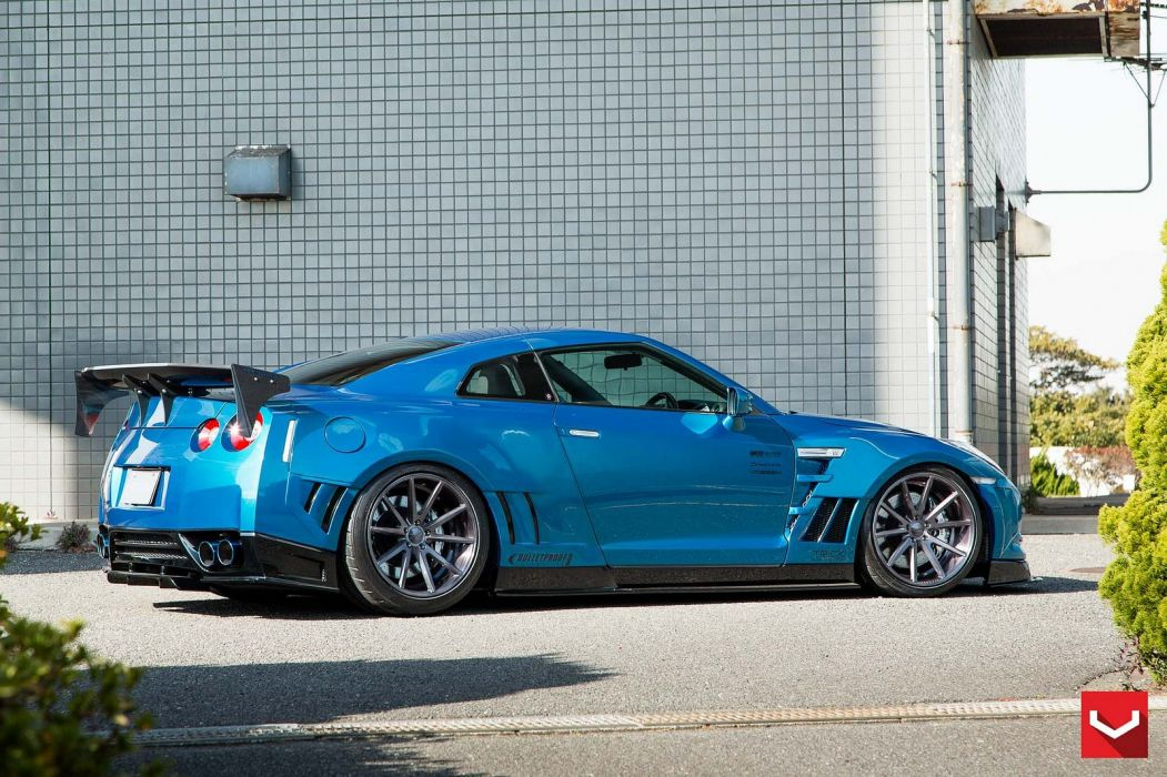 vossen WHEELS nissan gtr tuning cars wallpaper