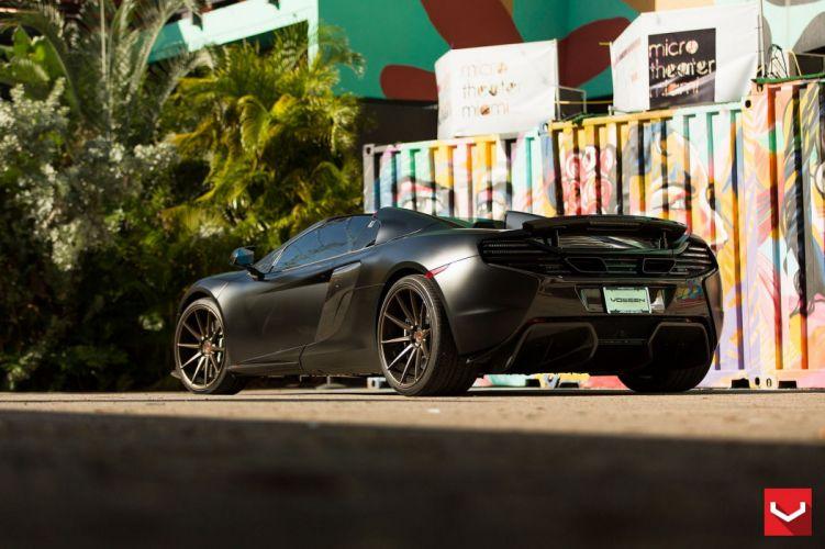 vossen WHEELS 650s Mclaren tuning cars wallpaper