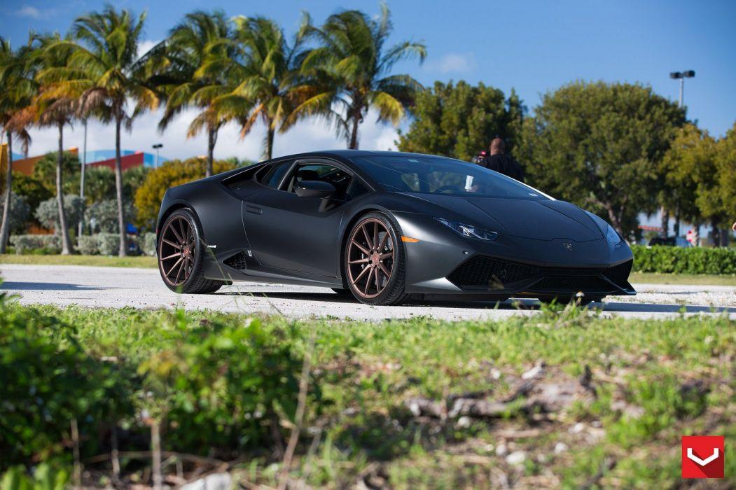vossen WHEELS Lamborghini Huracan tuning cars wallpaper