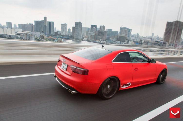 vossen WHEELS Audi S5 tuning cars wallpaper
