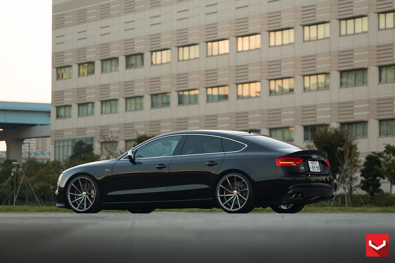 Vossen Wheels Audi S5 Sportback Black Tuning Cars