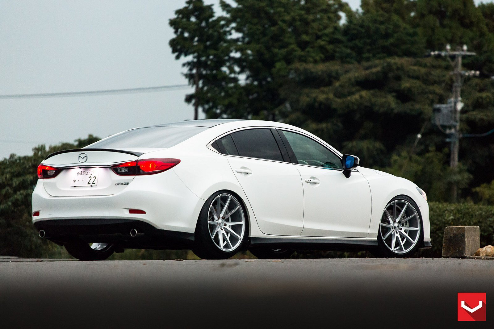 Mazda 3 Colors >> Vossen WHEELS Mazda 6 white tuning cars wallpaper | 1600x1066 | 664418 | WallpaperUP