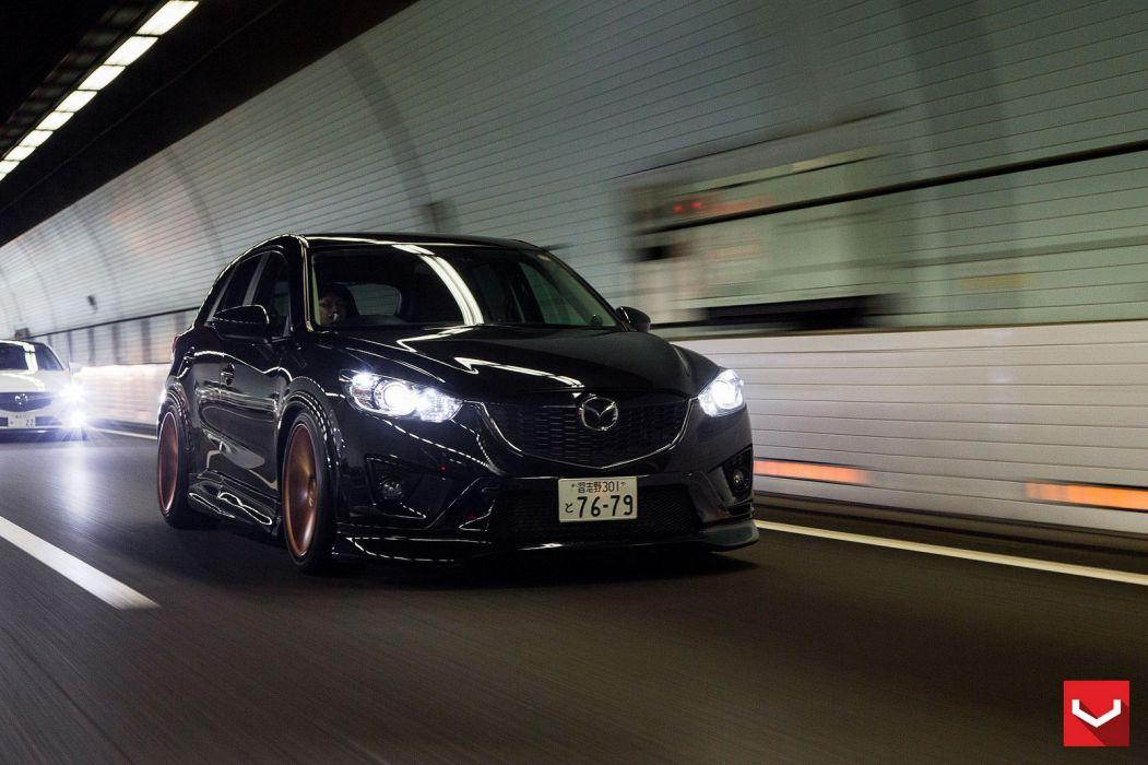 vossen WHEELS Mazda CX5 white tuning cars wallpaper
