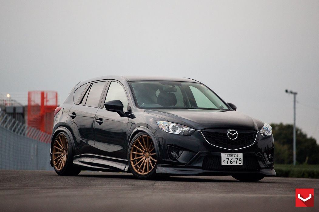 vossen WHEELS Mazda CX5 white tuning cars wallpaper