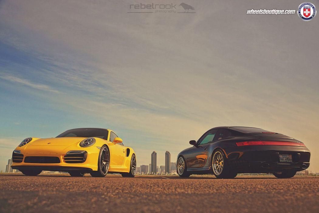 HRE WHEELS Corvette Porsche 991 Turbo S tuning cars wallpaper
