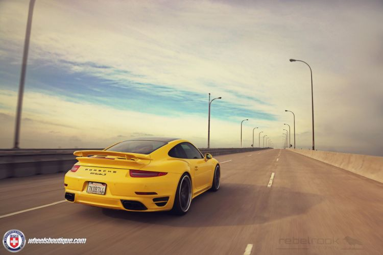 HRE WHEELS Corvette Porsche 991 Turbo S tuning cars wallpaper