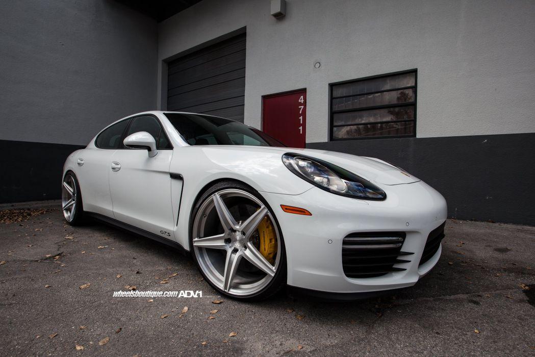 ADV 1 WHEELS Porsche Panamera GTS tuning cars wallpaper