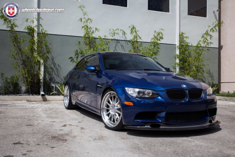 HRE WHEELS BMW M3 e92 tuning cars wallpaper