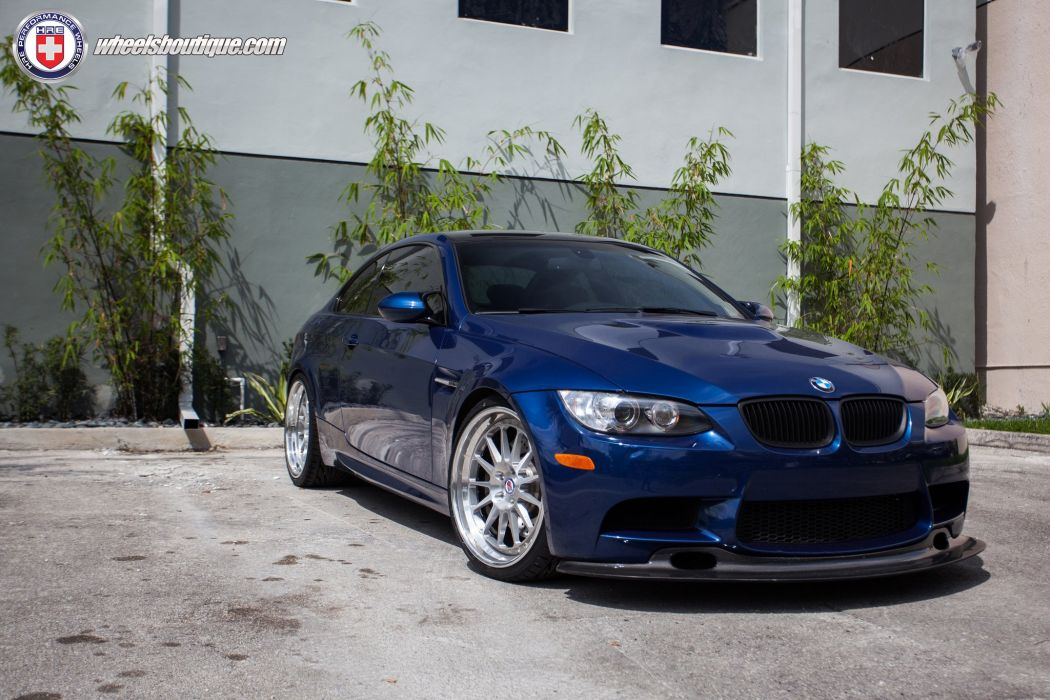 HRE WHEELS BMW M3 e92 tuning cars wallpaper