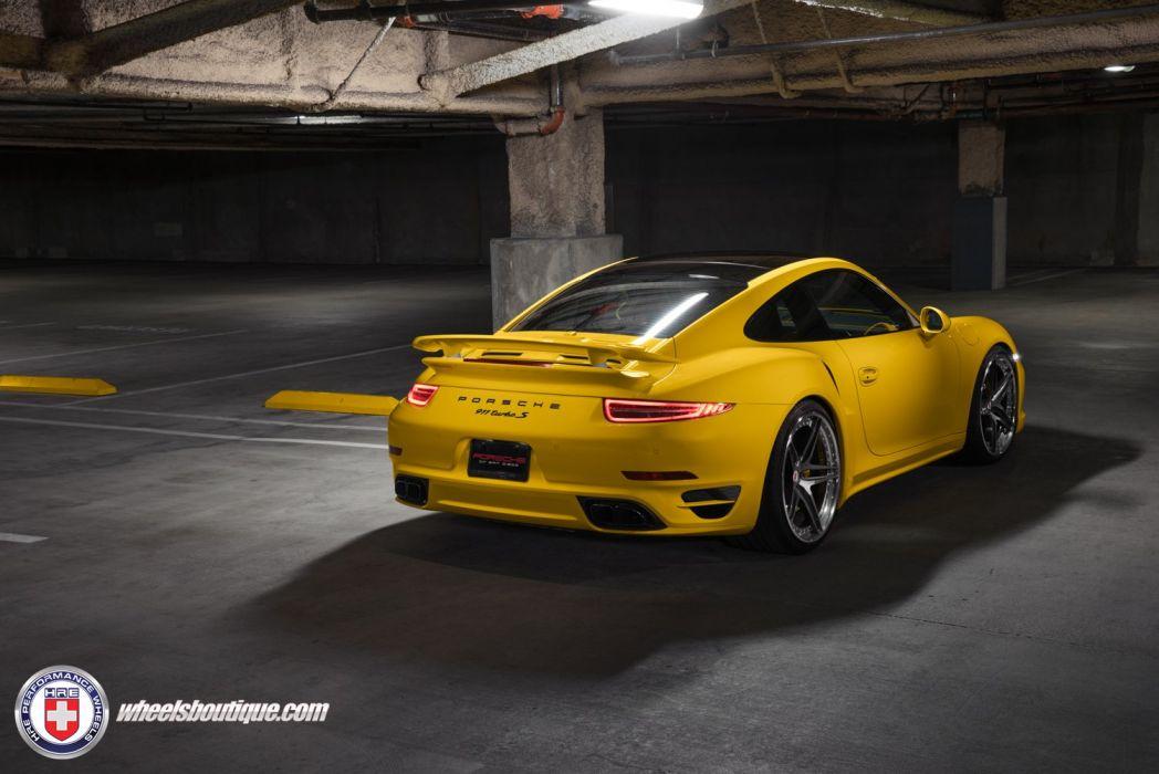 HRE Wheels Porsche 991 Turbo S cars tuning wallpaper