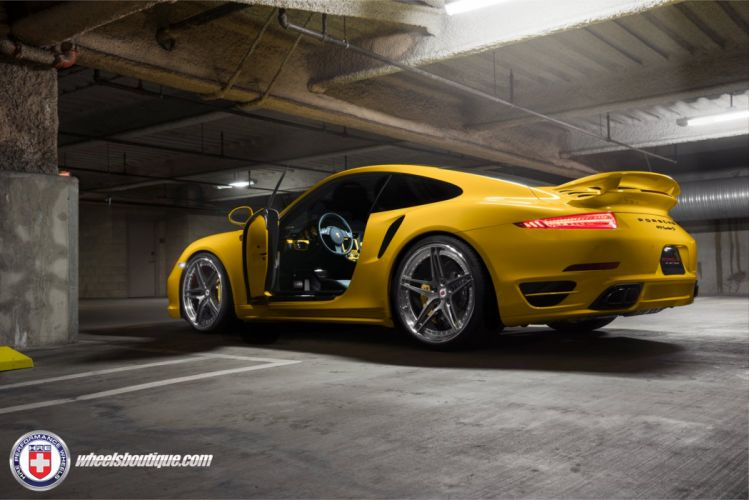 HRE Wheels Porsche 991 Turbo S cars tuning wallpaper