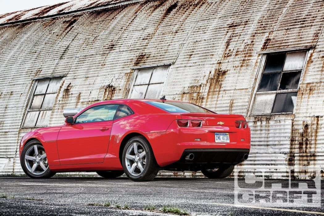 2013 Chevrolet Camaro Pro Street Rod Streetrod Red USA 1500x1000-03 wallpaper