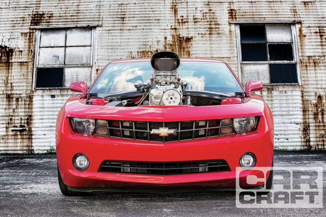 2013 Chevrolet Camaro Pro Street Rod Streetrod Red USA 1500x1000-02 wallpaper