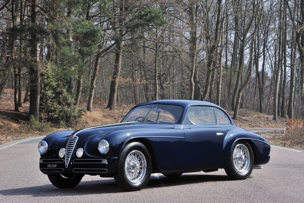 Alfa Romeo 6C 2500 coupe classic cars 1949 wallpaper