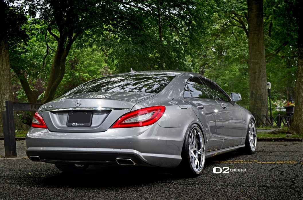 D2FORGED Wheels Mercedes CLS550 cars tuning wallpaper