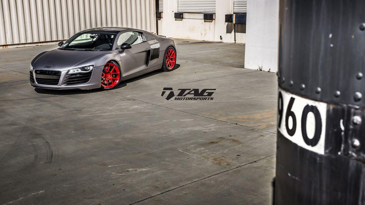 morr Wheels audi r8 cars tuning wallpaper