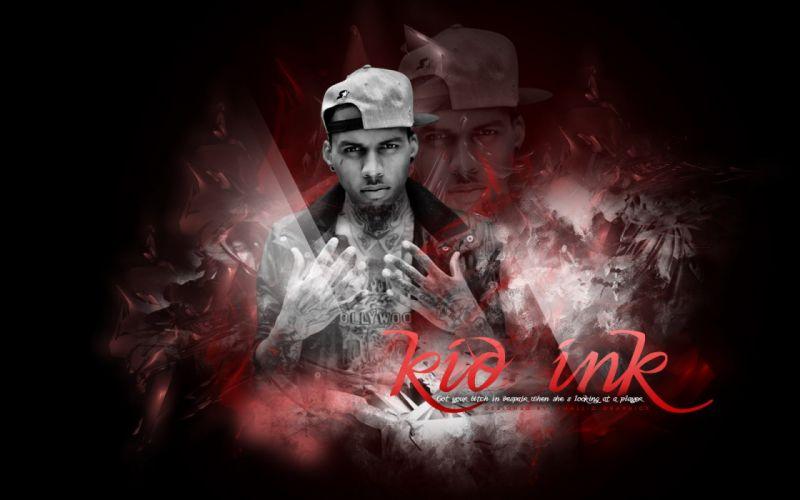 KID INK rapper rap hip hop disc jockey d-j 1kink gangsta poster wallpaper