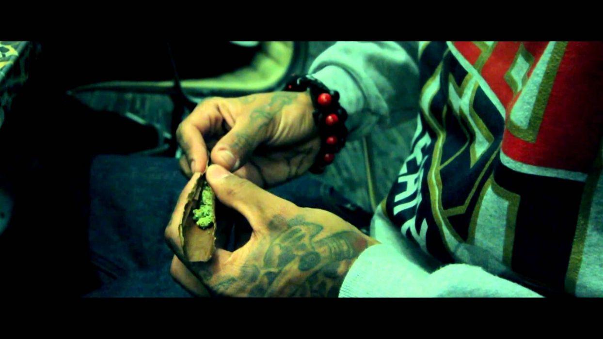 KID INK rapper rap hip hop disc jockey d-j 1kink gangsta tattoo 420 marijuana weed drugs wallpaper