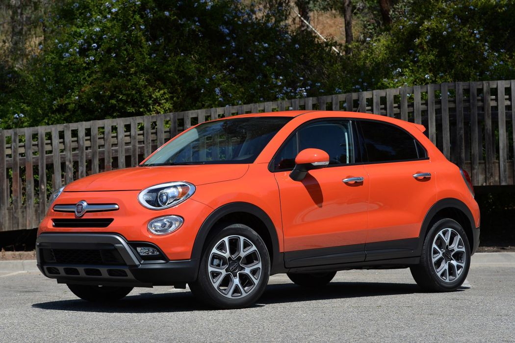 2016 Fiat 500X cars suv wallpaper