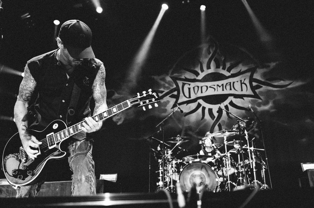 GODSMACK alternative metal nu-metal heavy hard rock 1gods guitar concert wallpaper