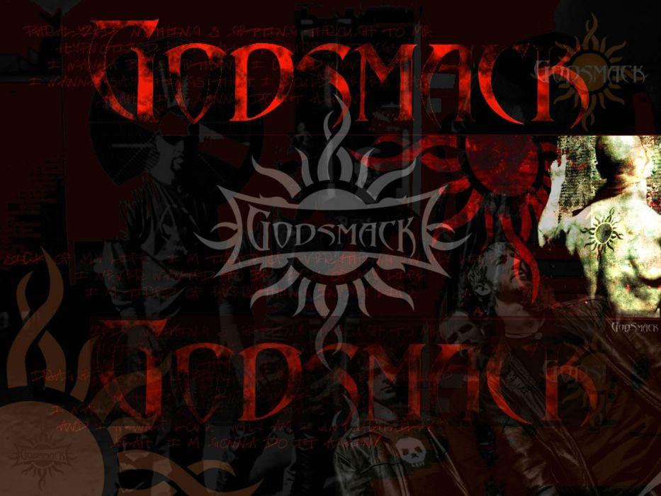 GODSMACK alternative metal nu-metal heavy hard rock 1gods poster dark wallpaper