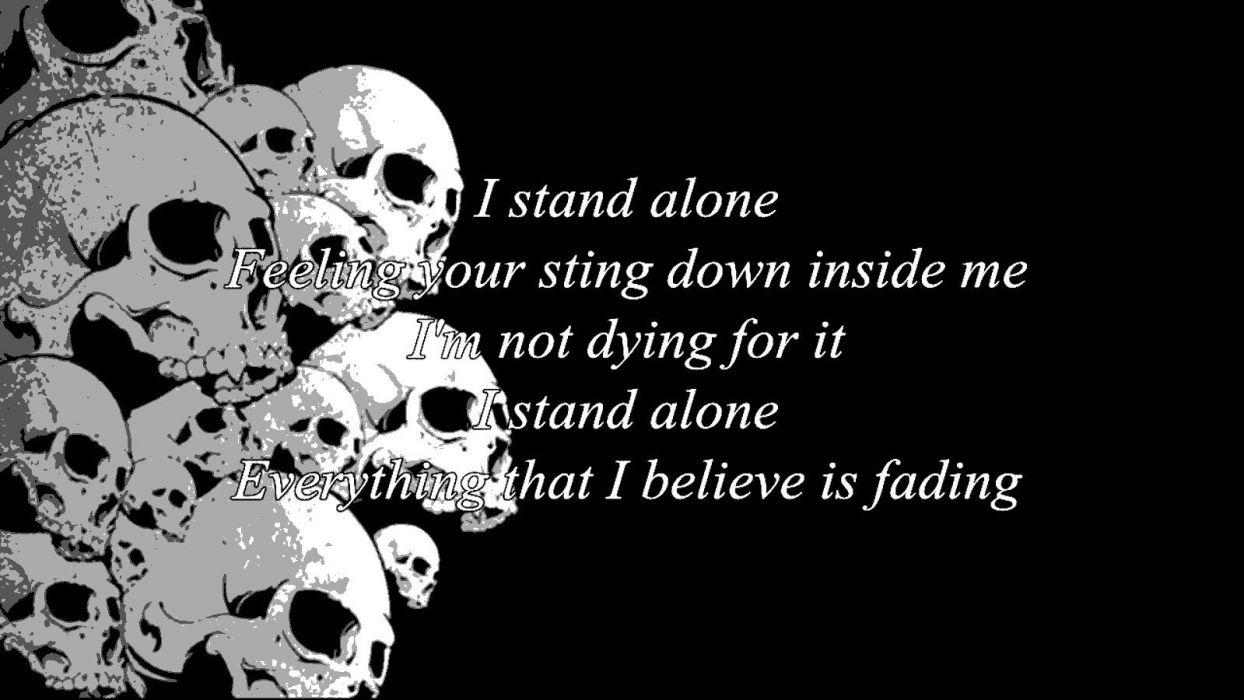 GODSMACK alternative metal nu-metal heavy hard rock 1gods poster dark skull wallpaper
