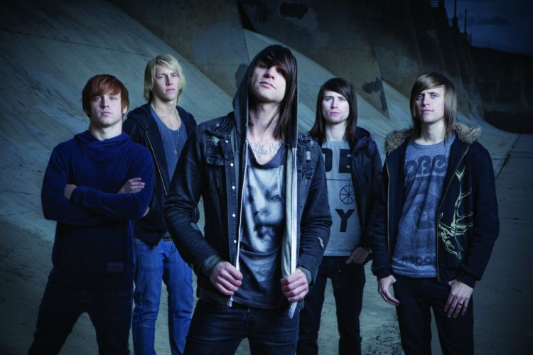 BLESSTHEFALL metalcore screamo hardcore wallpaper