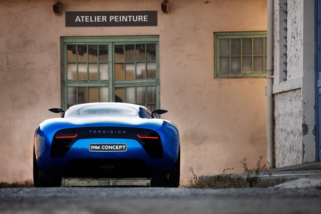 Toroidion 1MW Concept cars 2015 wallpaper