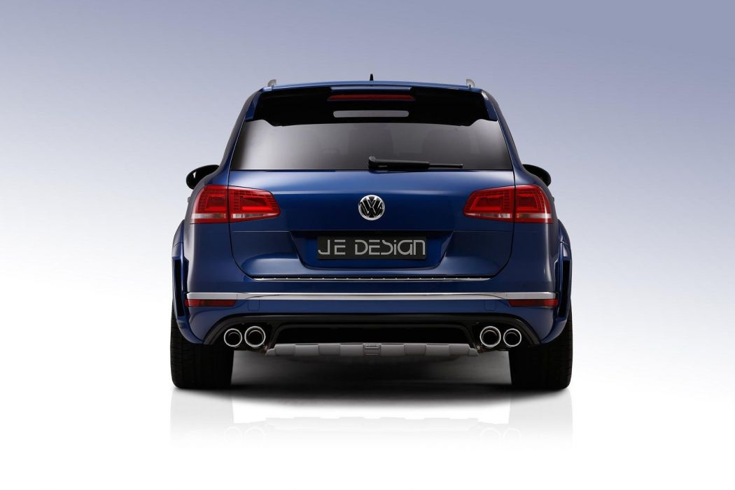 Volkswagen Touareg JE DESIGN cars suv tuning 2015 wallpaper