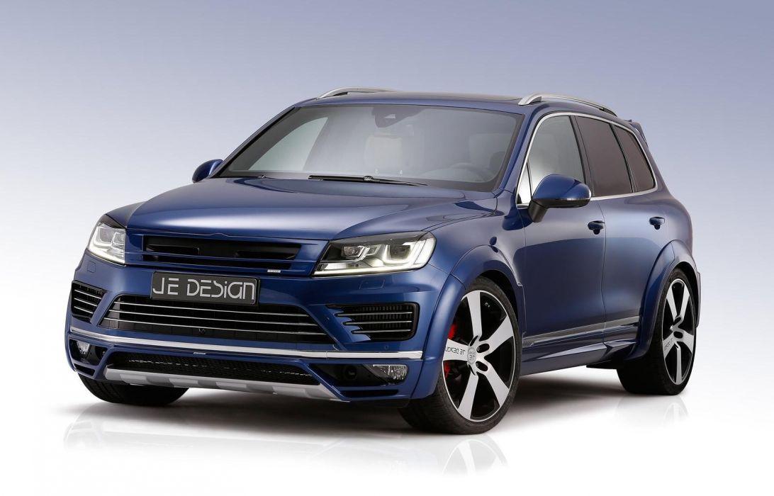 Volkswagen Touareg JE DESIGN cars suv tuning 2015 wallpaper