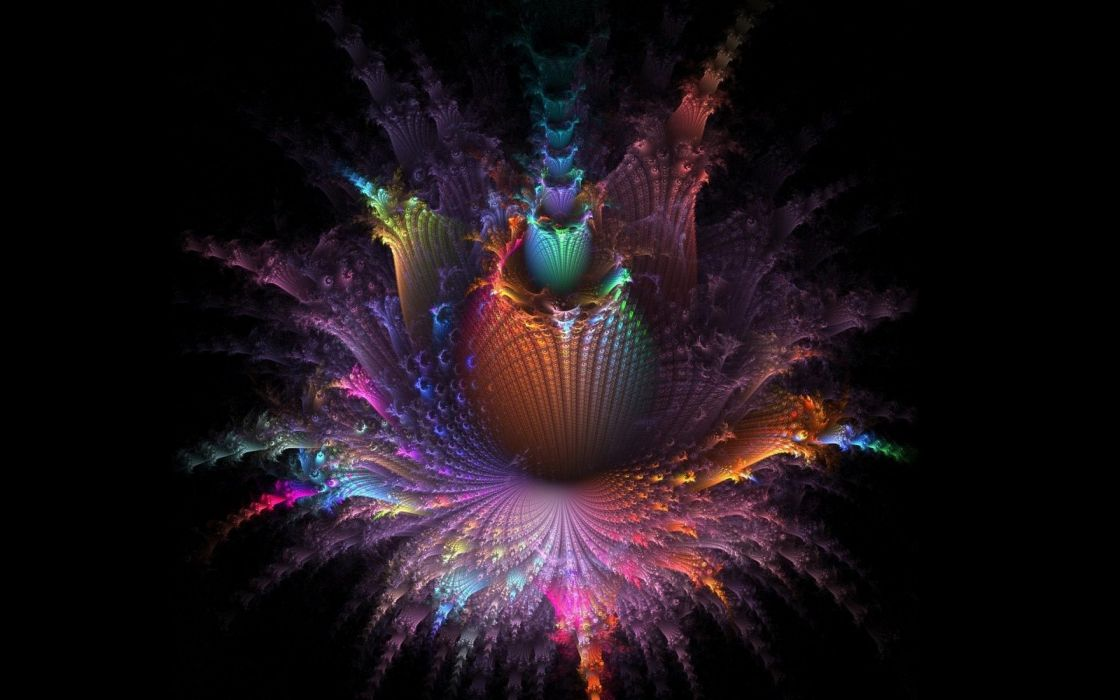 fractal abstract abstraction art artwork wallpaper
