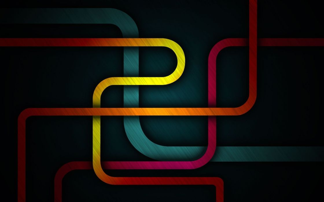 colorful pipes Abstract wallpaper