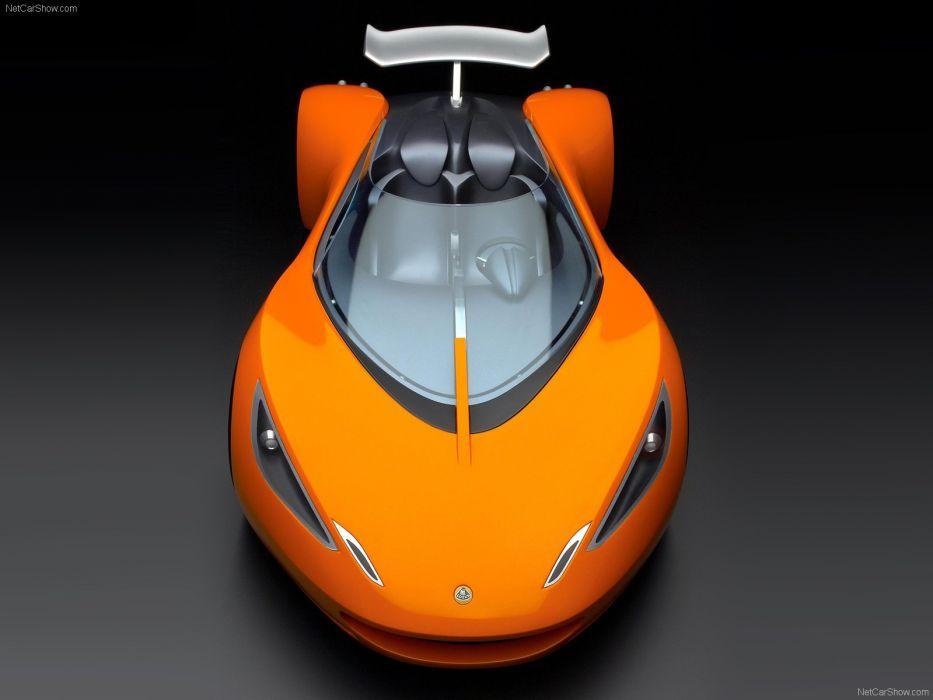 Lotus Hot Wheels Concept cars orange 2007 wallpaper