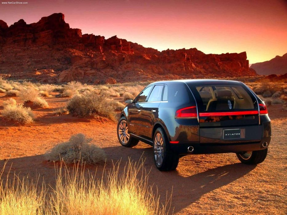Lincoln Aviator Concept cars 2004 wallpaper