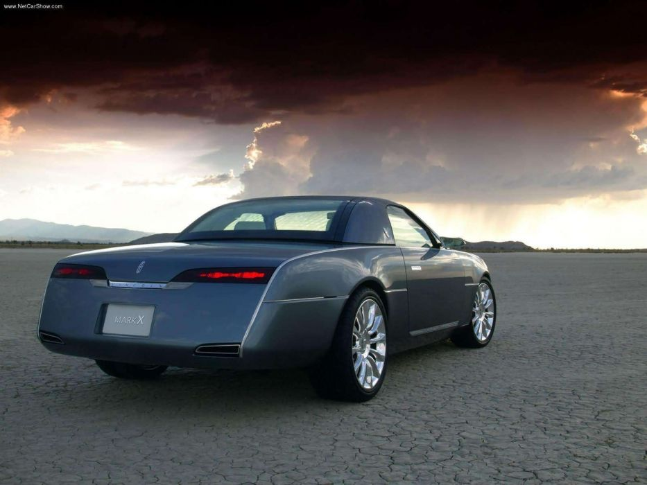 Lincoln Mark X Concept cars 2004 wallpaper
