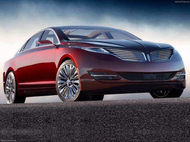 Lincoln MKZ Concept cars 2012 wallpaper